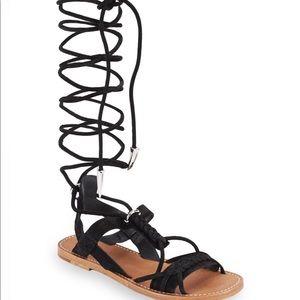 ASH tall gladiator sandals flat